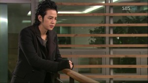 """I'd better reply that I'm okay."""" – Tae Kyung"""