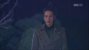 """When I couldn't see you, were you always crying like that?"""" – Tae Kyung"""
