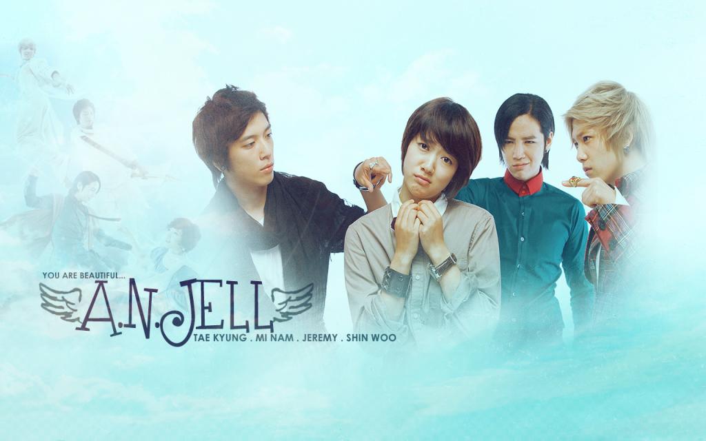 A.N.JELL Korean Boy Band