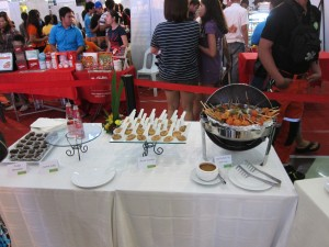Food for bloggers and guests | Manila's Finest Eats of Ensogo - LivingSocial